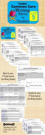1000 images about writing rubrics on common