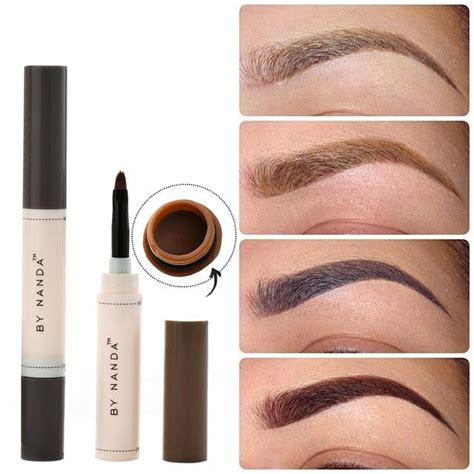 henna eyebrow tattoo kit professional waterproof makeup eyebrow set tint my brows