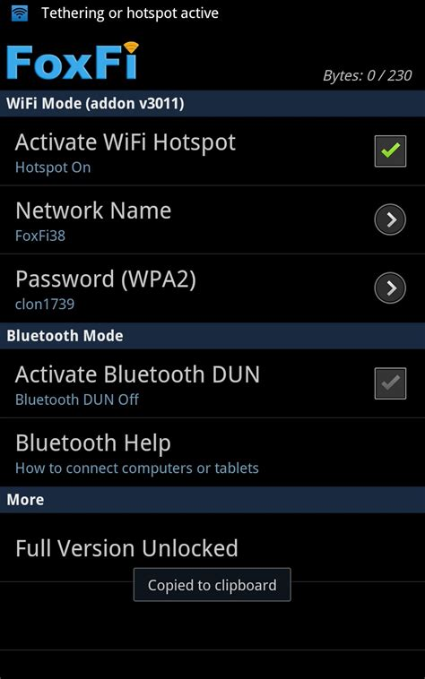 foxfi version apk tu android en wifi hotspot root taringa