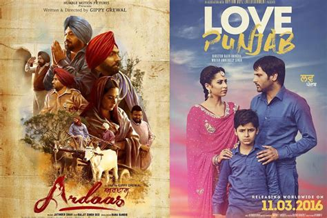 punjabi films box office report 2016 love punjab and ardaas 1st day box office collection