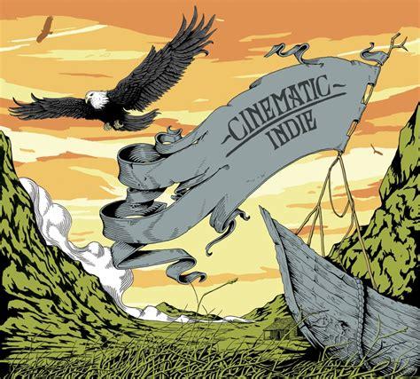 kpm music house emi kpm cinematic indie joe wilson illustration