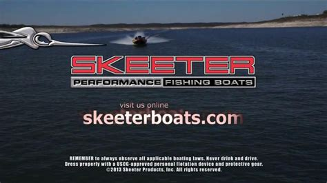 skeeter boats commercial skeeter boats tv spot outrunning the competition ispot tv