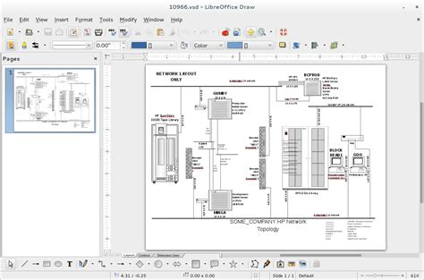 libreoffice visio tools for diagramming in fedora fedora magazine
