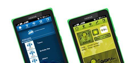 Resmi Hp Nokia X aplikasi resmi 101jakfm 987genfm untuk nokia x platform
