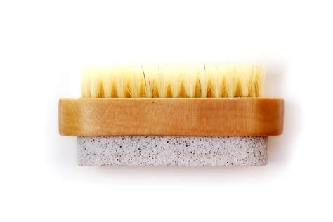 Pumice With Brush pumice brush olive bath