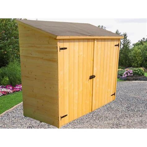 abri de jardin en bois pas cher 1770 abri de jardin mural en bois grand volume avec 233 tag 232 re de