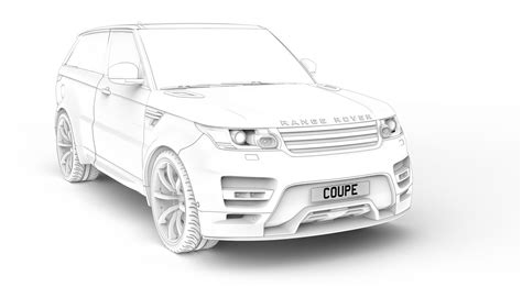 range rover sport drawing anyone care for a true two door range rover sport coupe