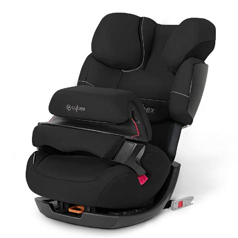 Auto Kindersitz Pallas by Cybex Silver Kindersitz Pallas Fix Pure Black Black