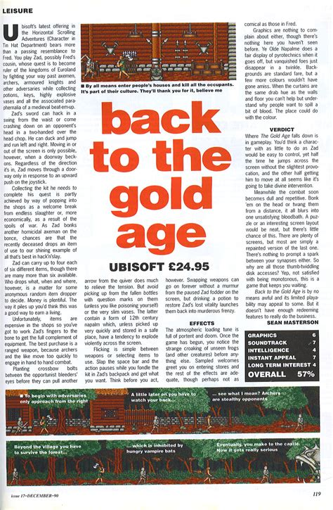 Putting The Gold Back Into The Golden Years Who Says That You Cant Be Fit Fabulous And 50 by Atari St Back To The Golden Age Scans Dump