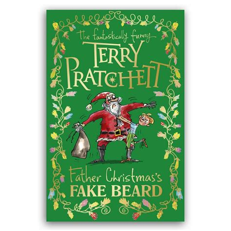 father christmas s fake beard terry pratchett books hardback