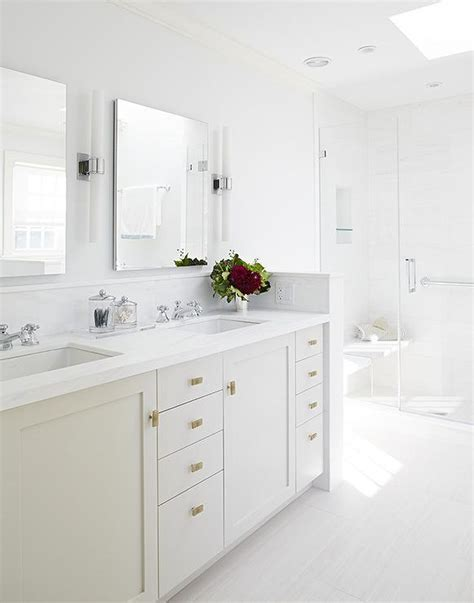 grey cabinets gold hardware light gray sink vanity with gold hardware transitional