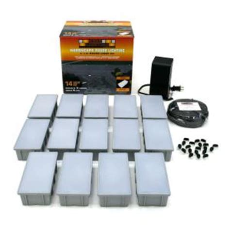 kerr lighting 14 light outdoor paver light kit kpav04 14