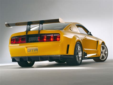 ford supercar concept 2004 ford mustang gt r concept ford supercars net