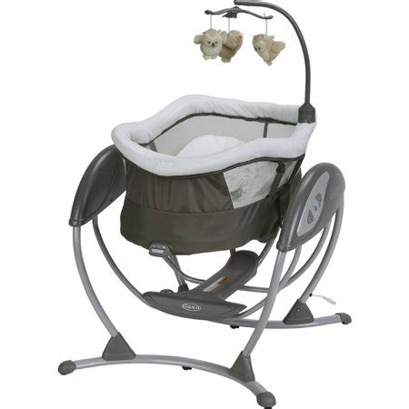 graco baby swing graco dreamglider gliding swing and sleeper baby swing