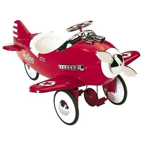 toys r us airplanes sky king pedal airplane airflow collectibles toys quot r