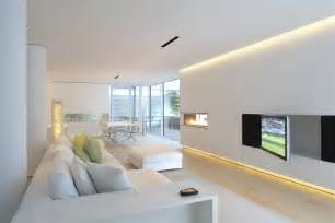 Home Interior Architecture White Interior By Ivana Radovanovic Al Rousan