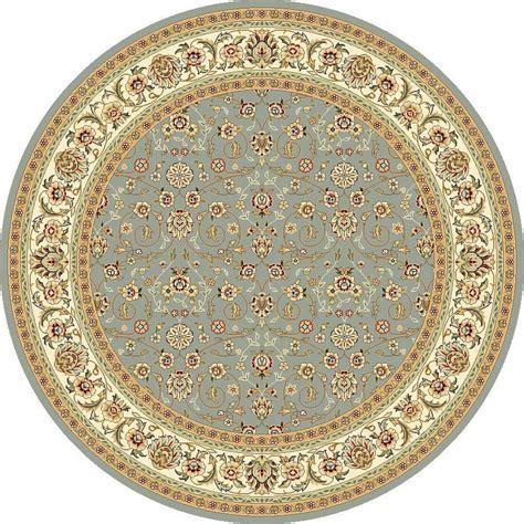 rounds rugs safavieh lyndhurst light blue ivory 8 ft x 8 ft area rug lnh312b 8r the home depot