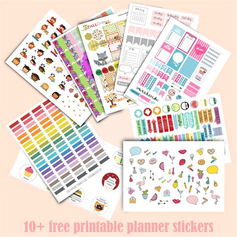 printable planner stickers 2016 10 free printable planner stickers ausdruckbare