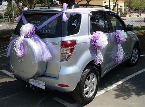 28 best Wedding Car Decorations images on Pinterest