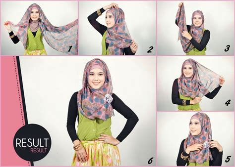 Kerudung Jilbab Islami Pashmina islamsqy tutorial simple and easy pashmina shiffon