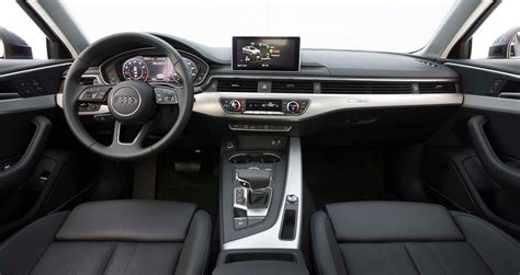 Audi A4 Interior by 2017 Audi A4 Quattro First Test Review