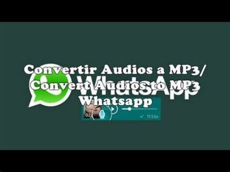 audio format supported by whatsapp convertir audios whatsapp a mp3 convert whatsapp audio