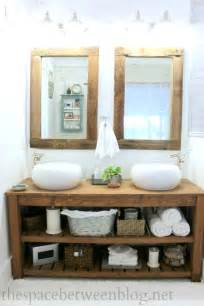 Bathroom Makeovers For Small Bathrooms - best 25 diy bathroom vanity ideas on pinterest half bathroom decor diy bathroom decor and