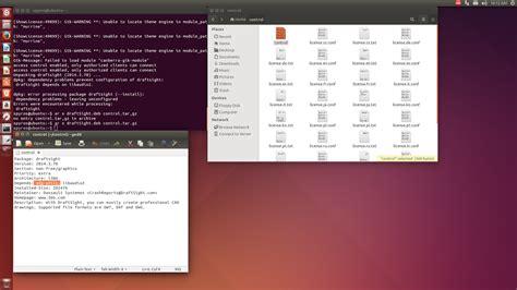 html design ubuntu linux aided design draftsight and ubuntu 14 04 lts 64 bit