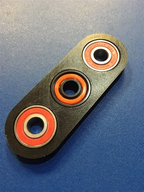 3d Printed Fidget Spinner Hand Toy From Spinspec On Tindie 3d Printed Fidget Spinner Template