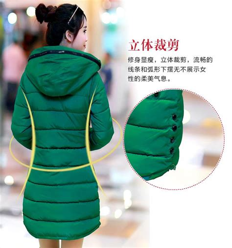 Jaket Wanita Panjang Coat Wanita Coat Panjang Autumn 1 jaket musim dingin korea green padded coat jyb331352green coat korea