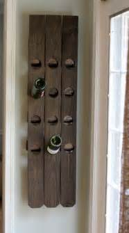 diy wall mount riddling wine rack from an old fence luxury lifestyle design amp architecture