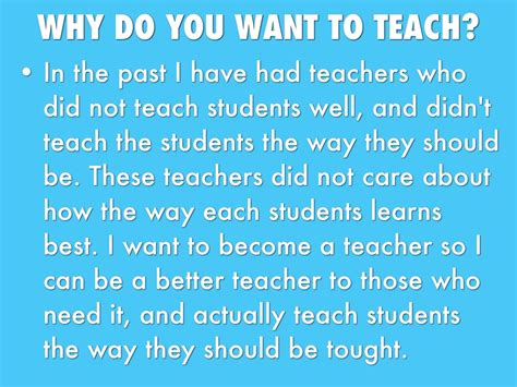 why i became a teacher join us on facebook for more inspiring