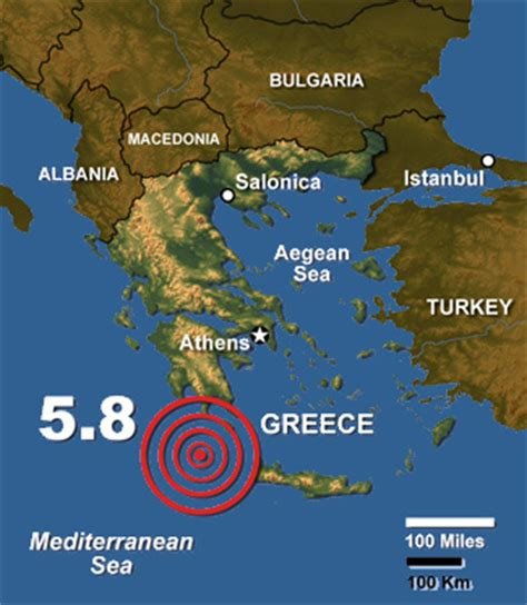 earthquake greece athens earthquake