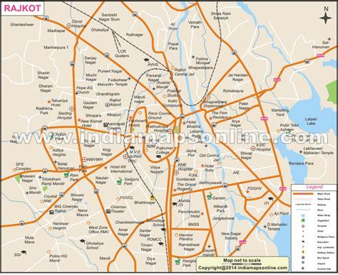 surat city road map rajkot city map city map of rajkot