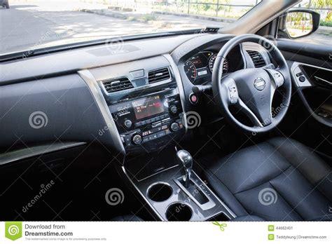 nissan teana interior nissan teana 2014 interior editorial photo image 44662401