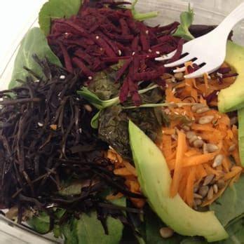 Live Food Bar Detox Salad by Magic Mix Juicery Juice Bars Smoothies New York Ny