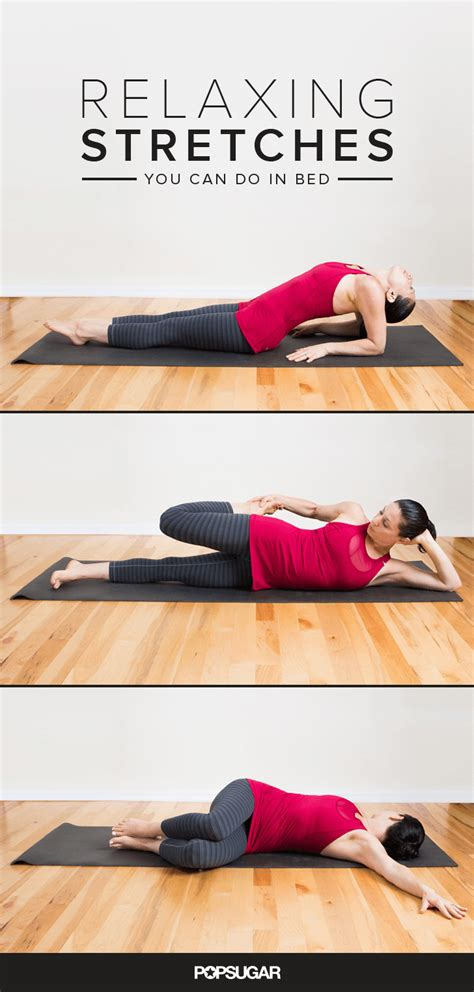 exercises to do in bed fitness health well being 9 relaxing stretches you