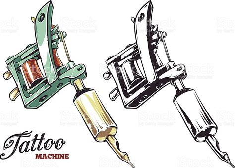 tattoo machine vector download tattoo machine vector stock vector art more images of