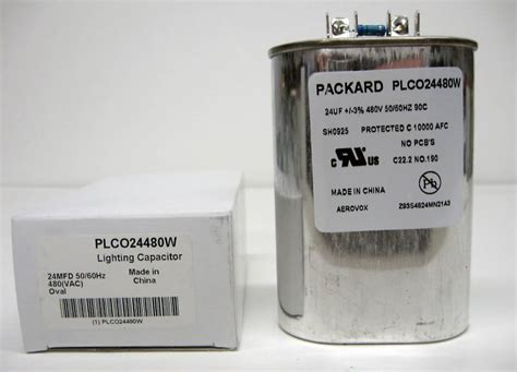 how to test a hid capacitor plco24480w hid lighting capacitor 24 mfd uf 480 volts ebay