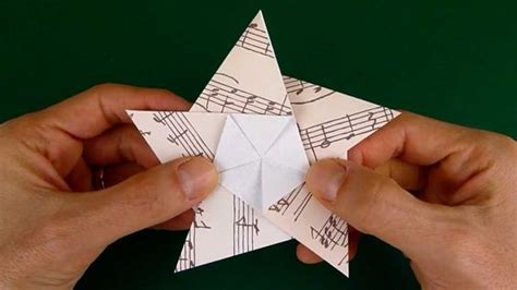 Origami Illusion Explained - floors receptions and on