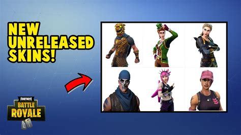 fortnite new skins coming out new quot unreleased skins quot in fortnite battle royale all 6
