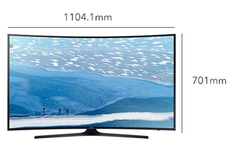 Samsung 49 Inch Tv Samsung 49 Inch 4k Curved Uhd Smart Led Tv 49ku7350 Souq Uae