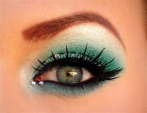 creative christmas party or fantasy eye make up ideas