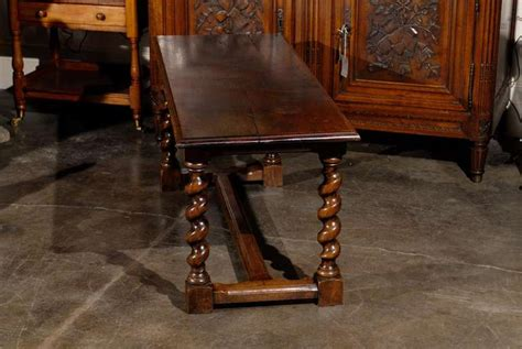 barley twist coffee table coffee table with barley twist legs at 1stdibs