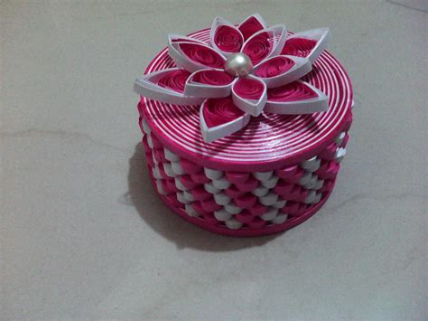 Jewellery With Quilling Paper - paper quilling jewellery box gifts screation pude蛯ka