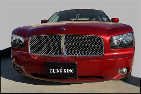 bentley grill dodge charger chrome bentley mesh grille