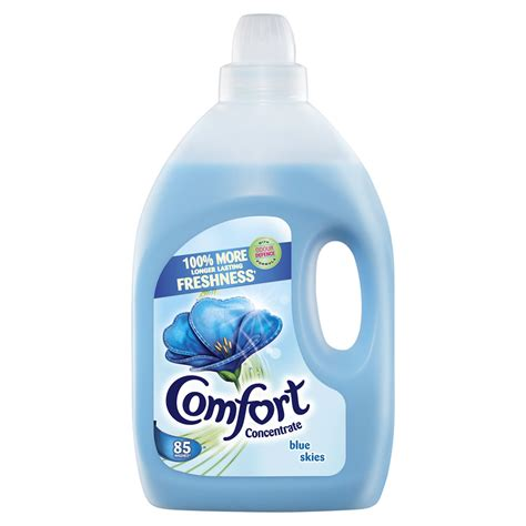 how to comfort comfort blue skies fabric conditioner 85 washes 3l at