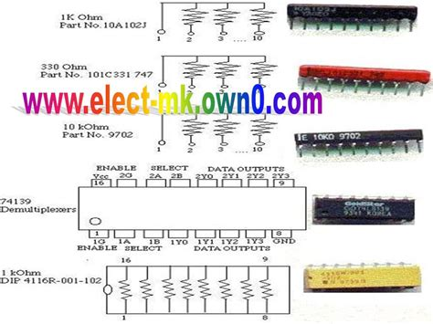resistor smd types resistor types