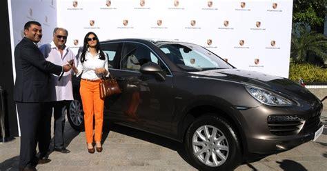 cars com actress bollywood actress sridevi is porsche india s 100th