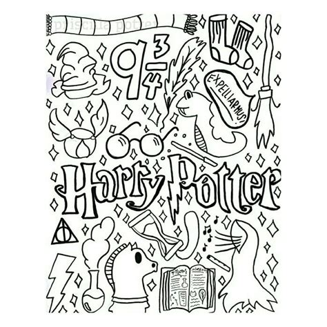 doodle harry potter 1000 images about harry potter doodles on